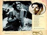 Lata Mangeshkar - Madhubala
