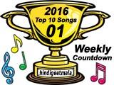 Top 10 Songs (Week 01, 2016)