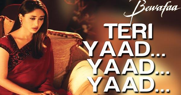 Yaad Yaad Bus Yaad Reh Jati Hai - याद याद बस याद रह जाती है